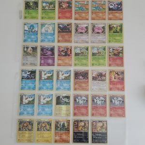 Lot of 35 Rare and Holo Pokémon Cards